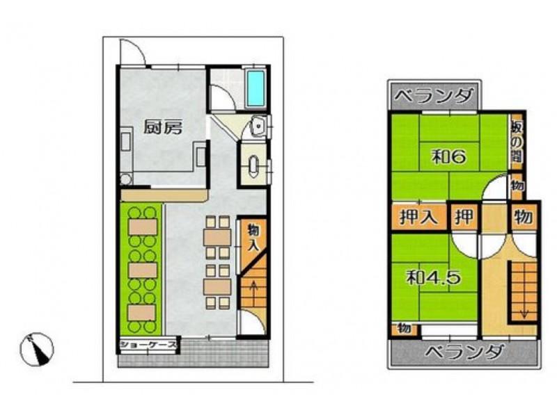 京都府南部|店舗・倉庫等の不動産検索