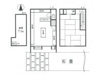 京都市東山区 下河原通高台寺通塔之前上る金園町店舗