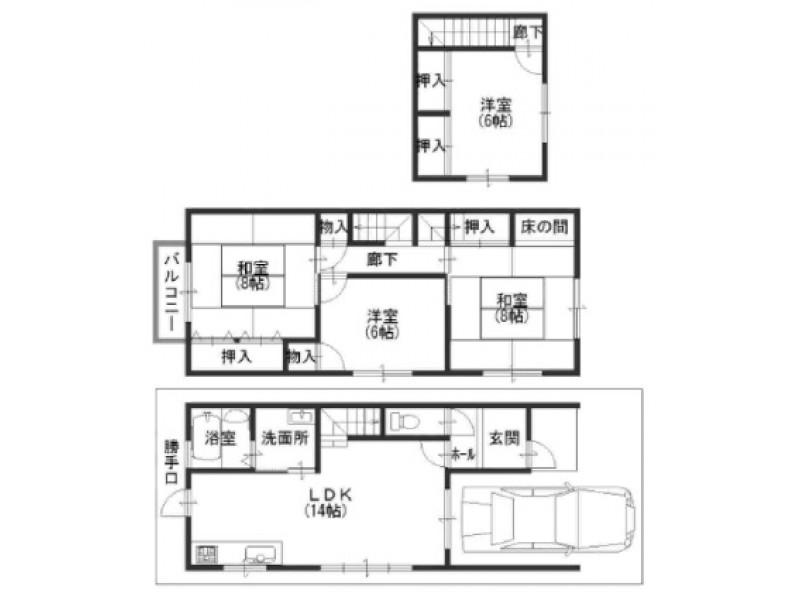 宇治市|一戸建て|六地蔵駅の不動産検索