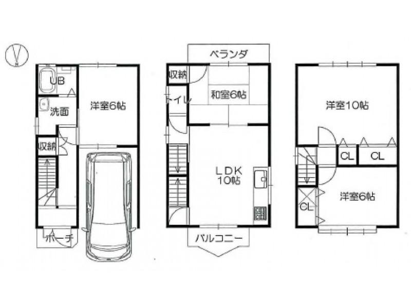 城陽市|一戸建て|久津川駅の不動産検索