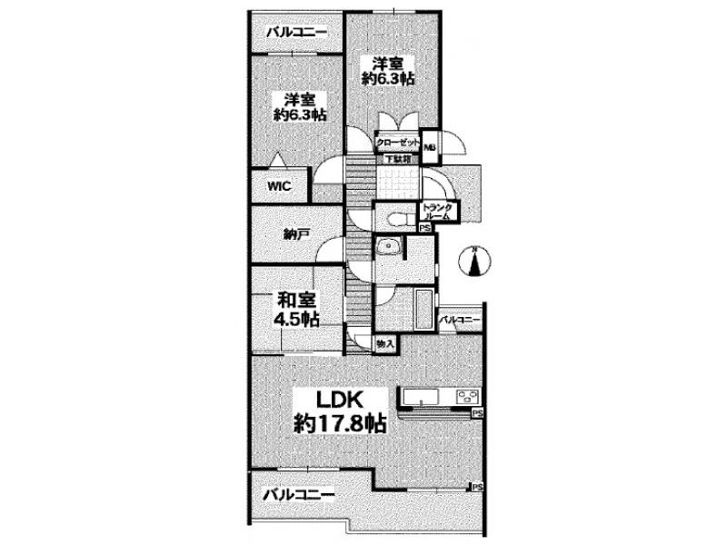 木津川市|マンション|高の原駅の不動産検索